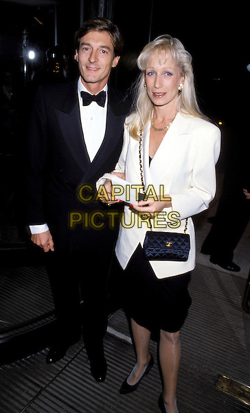 NIGEL HAVERS & WIFE.Ref: 026.© Capital Pictures.Tel: +44 (0)20 7253 1122.www.capitalpictures.com.sales@capitalpictures.com.(LIB007)