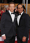 LOS ANGELES, CA - JANUARY 27: Actors Damian Lewis and Navid Negahban. arrive at the19th Annual Screen Actors Guild Awards held at The Shrine Auditorium on January 27, 2013 in Los Angeles, California.