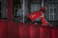 Team Trek Segafredo Team presentation. Tsgabu Grmay (ETH/Trek Segafredo. <br /> <br /> 53th Amstel Gold Race (1.UWT)<br /> 1 Day Race: Maastricht > Berg en Terblijt (263km)
