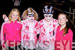 Elaine McSweeney Castleisland, Lauren O'Regan, Regina O'Regan Kilmoyley and Michaela O'Brien Castleisland who ran in the Freaky Friday 5km run in Castleisland on Friday night
