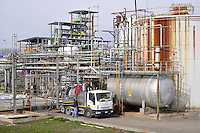 - Oxem refinery in Mezzana Bigli (Pavia), production of biodiesel ecological fuel, vegetable diesel oil deriving mainly from  of soya and colza oil transformation<br />