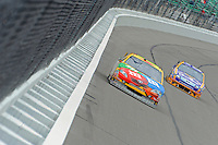 Kyle Busch (#18) and Jamie McMurray (#26)