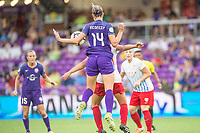 Orlando, FL - Saturday July 01, 2017: Alanna Kennedy during a regular season National Women's Soccer League (NWSL) match between the Orlando Pride and the Chicago Red Stars at Orlando City Stadium.