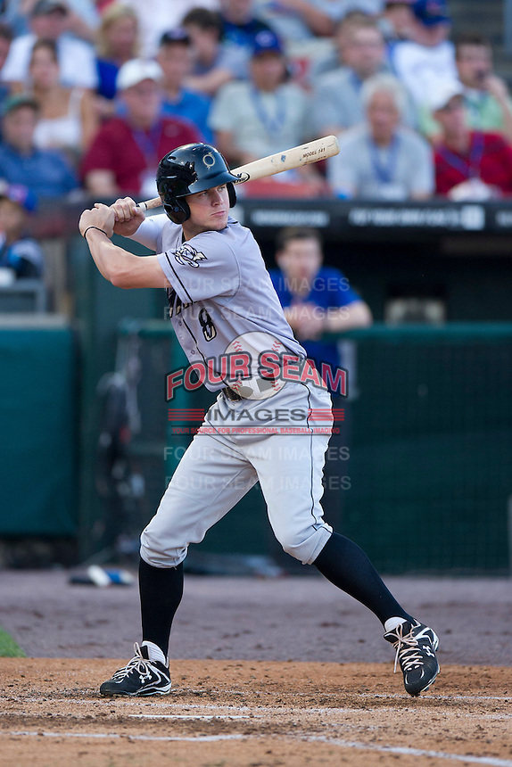 Omaha Royals outfielder Wil Myers #8 at bat during the Triple-A All-Star Game Coca-Cola Field on July 11, 2012 in Buffalo, New York.  The Pacific Coast League defeated the International League 3-0.  (Mike Janes/Four Seam Images via AP Images)