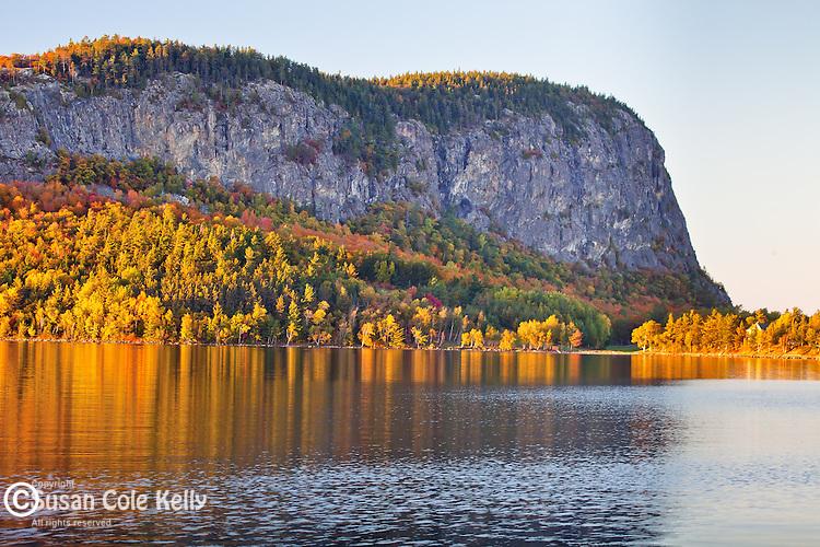 Sunset on Mount Kineo over Moosehead Lake, Rockwood, Somerset County, ME, USA