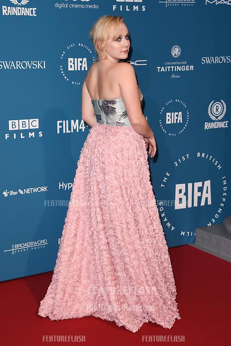 LONDON, UK. December 02, 2018: Alexa Davies at the British Independent Film Awards 2018 at Old Billingsgate, London.<br /> Picture: Steve Vas/Featureflash
