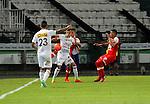 Once Caldas igualó como local 0-0 ante Independiente Santa Fe. Fecha 5 Liga Águila I-2017.