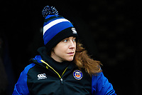 Sophie Bennett of Bath Rugby looks on prior to the match. Heineken Champions Cup match, between Stade Toulousain and Bath Rugby on January 20, 2019 at the Stade Ernest Wallon in Toulouse, France. Photo by: Patrick Khachfe / Onside Images