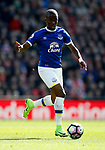 Enner Valencia of Everton during the English Premier League match at Anfield Stadium, Liverpool. Picture date: April 1st 2017. Pic credit should read: Simon Bellis/Sportimage