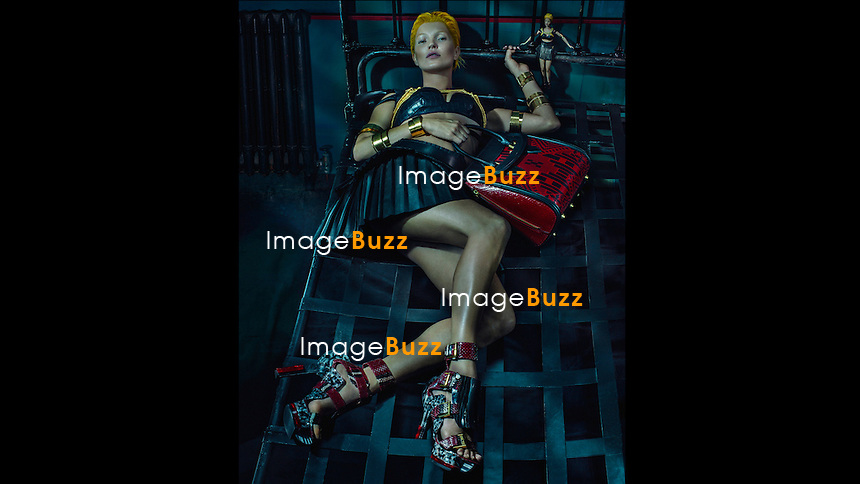 Kate Moss dazzles in the new Alexander McQueen shots for label's spring summer 2014 collection by the one and only Steven Klein.