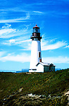 Oregon: Oregon Coast, Yaquina Lighthouse, Photo: orcoas104  .Photo copyright Lee Foster, 510/549-2202, lee@fostertravel.com, www.fostertravel.com