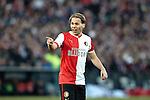 Nederland, Rotterdam, 27 januari  2013.Eredivisie.Seizoen 2012/2013.Feyenoord-FC Twente.Ruud Vormer van Feyenoord in actie
