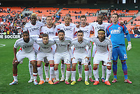 Washington, D.C.- March 29, 2014. New England Team Photo.  D.C. United defeated the New England Revolution 2-0 during a Major League Soccer Match for the 2014 season at RFK Stadium.