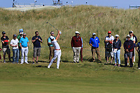 Haydn Porteous (RSA) on the 17th during Round 1 of the Dubai Duty Free Irish Open at Ballyliffin Golf Club, Donegal on Thursday 5th July 2018.<br /> Picture:  Thos Caffrey / Golffile
