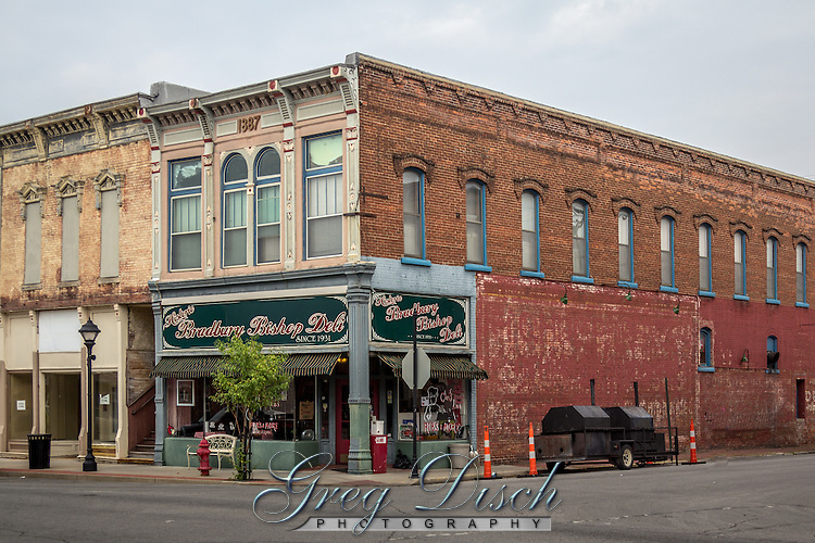 The Bradbury Bishop Deli in Webb City Missouri on Route 66.  The building was originally a bank built in 1887 and bought by Mr. CS Bradbury in 1916 and added a soda fountain.  The store has been a deli since 1988.