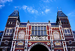 Netherlands, Amsterdam: Rijksmuseum.  Photo #: duamst201.  Photo copyright Lee Foster, 510/549-2202, lee@fostertravel.com, www.fostertravel.com