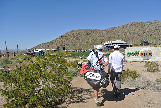 Rory McIlroy (NIR) making his way to the 16th green on day 5 Sunday semifinal at the WGC - Accenture Match Play Championship,Ritz-Carlton GC, Dove Mountain, Marana, Arisona, USA..22 Feb 2012 - 26 Feb 2012.Picture: Fran Caffrey www.golffile.ie