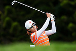 TAOYUAN, TAIWAN - OCTOBER 28:  Na Yeon Choi of South Korea tees off the 2nd hole during the day four of the Sunrise LPGA Taiwan Championship at the Sunrise Golf Course on October 28, 2012 in Taoyuan, Taiwan.  Photo by Victor Fraile / The Power of Sport Images