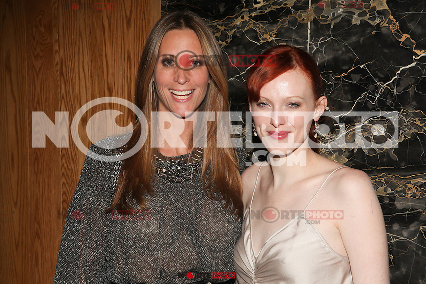 NEW YORK, NY - SEPTEMBER 7: Stephanie Winston Wolkoff and Karen Elson  attend Destination IMAN Website Launch Party at the Dream Hotel in  New York City, NY. September 7, 2012. &copy; Diego Corredor/MediaPunch Inc. /NortePhoto.com<br /> <br /> **CREDITO*OBLIGATORIO** *No*Venta*A*Terceros*<br /> *No*Sale*So*third*...