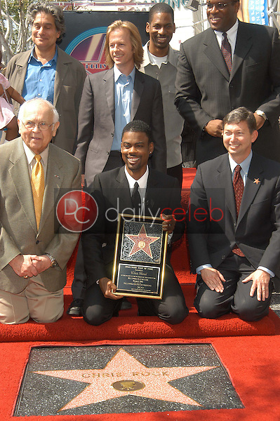 Chris Rock receives his star