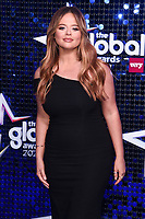 Emily Atack<br /> arriving for the Global Awards 2020 at the Eventim Apollo Hammersmith, London.<br /> <br /> ©Ash Knotek  D3559 05/03/2020
