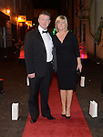 Eamonn Leech and Mandy Murphy pictured at the Business Excellence Awards in Earth Night Club at the Westcourt Hotel. Photo:Colin Bell/pressphotos.ie
