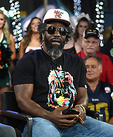 """MIAMI BEACH, FL - JANUARY 28: Ed Reed discusses Fox Sports """"The ReUnion"""" at the Fox Sports South Beach studio during Super Bowl LIV week on January 29, 2020 in Miami Beach, Florida. (Photo by Frank Micelotta/Fox Sports/PictureGroup)"""