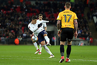 Erik Lamela of Tottenham Hotspur during Tottenham Hotspur vs Newport County, Emirates FA Cup Football at Wembley Stadium on 7th February 2018