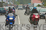 The funeral procession of James Griffin as it leaves St Michael's Church, Lixnaw on Wednesday morning.   Copyright Kerry's Eye 2008
