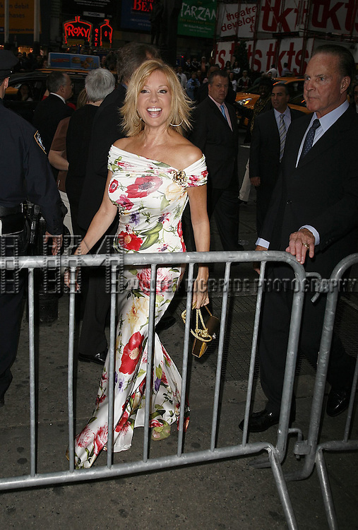 Kathie Lee Gifford attending the Opening Night of Warner Bros. Theatre Ventures' Inaugural production of LESTAT at the Palace Theatre with an after party at Time Warner Center in New York City. April 25, 2006.© Walter McBride/WM Photography