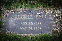 "In a Colorado cemetery, a grave marker for Lucille Ball, but not the famous comedian of ""I Love Lucy"" fame.  This Lucllle was born 16 years after her famous counter-part by name, and died two years before the 'other Lucy'."