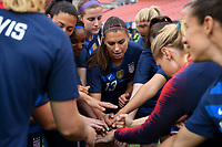 Cleveland, Ohio - Tuesday June 12, 2018:  during an international friendly match between the women's national teams of the United States (USA) and China PR (CHN) at FirstEnergy Stadium.