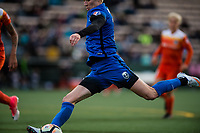 Seattle, Washington -  Saturday April 22, 2017: Megan Rapinoe during a regular season National Women's Soccer League (NWSL) match between the Seattle Reign FC and the Houston Dash at Memorial Stadium.