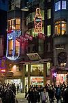 Istanbul, Turkey, Istiklal Caddesi, Istiklal Avenue, Galatasaray, Saturday night, pedestrian street, night,