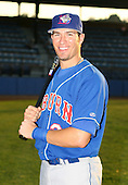 2007:  J.P. Arencibia of the Auburn Doubledays poses for a photo prior to a game vs. the Jamestown Jammers in New York-Penn League baseball action.  Photo copyright Mike Janes Photography 2007.