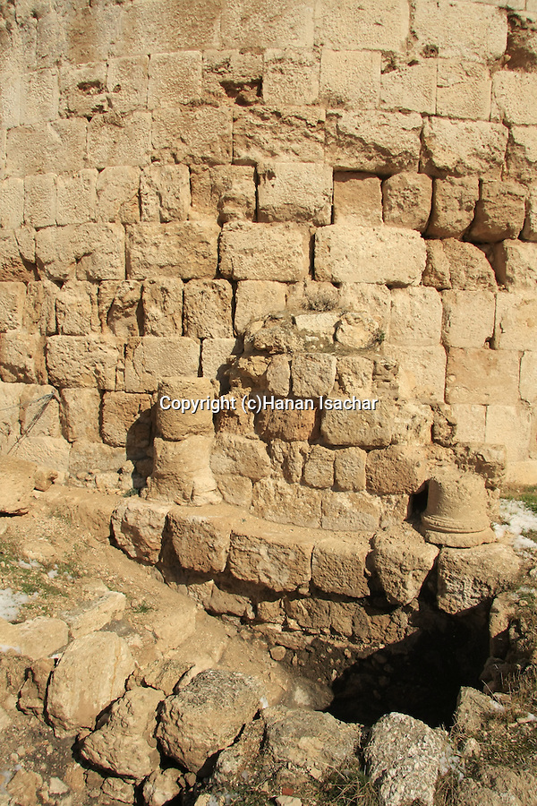 Judea, Herodion, built by Herod the Great as a fortified palace, the Mikveh