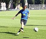 04.09.2019, Sportpark, Berlin, GER, 1.FBL, DFL,, Hertha BSC Training,<br /> DFL, regulations prohibit any use of photographs as image sequences and/or quasi-video<br /> im Bild Marius Wolf (Hertha BSC Berlin #44)<br /> <br />       <br /> Foto © nordphoto / Engler