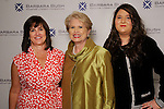 From left: Renee Renfroe, Ginger Blanton and Claire Nelson at the VIP Reception for the Celebration of Reading event at the Hobby Center Thursday  April 21,2016(Dave Rossman Photo)