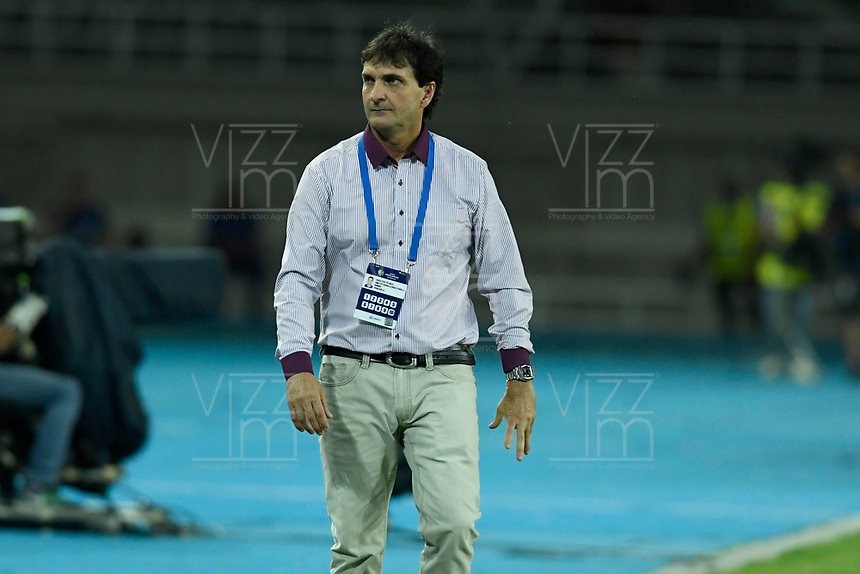 PEREIRA – COLOMBIA, 24-01-2020: Amleto Bonacorso técnico de Venezuela durante partido entre Venezuela y Ecuador por la fecha 3, grupo A, del CONMEBOL Preolímpico Colombia 2020 jugado en el estadio Hernán Ramírez Villegas de Pereira, Colombia. / Amleto Bonacorso coach of Venezuela during match against Argentina of the date 3, group A, for the CONMEBOL Pre-Olympic Tournament Colombia 2020 played at Hernan Ramirez Villegas stadium in Pereira, Colombia. Photo: VizzorImage / Julian Medina / Cont