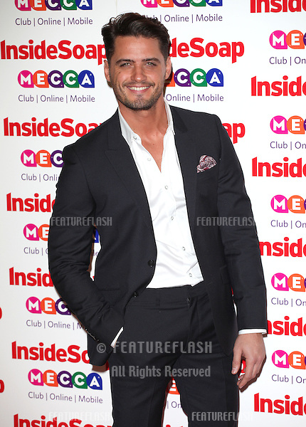 Fabrizio Santino arriving for the 2013 Inside Soap Awards, at the Ministry Of Sound, London. 21/10/2013 Picture by: Alexandra Glen / Featureflash