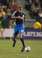 Ryan Johnson,.San Jose Earthquakes vs Los Angeles Galaxy, April 4, 2008, in Carson California. The Galaxy won 2-0.