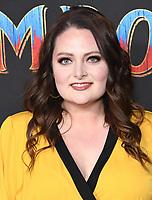 "11 March 2019 - Hollywood, California - Lauren Ash. ""Dumbo"" Los Angeles Premiere held at Ray Dolby Ballroom. Photo Credit: Birdie Thompson/AdMedia"