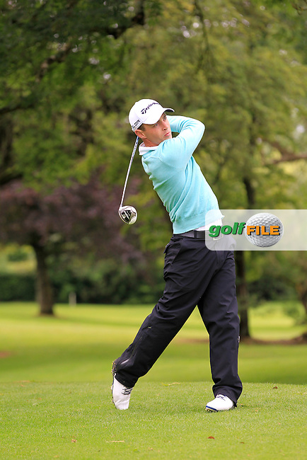 Daniel Holland (Castle) on the 3rd tee during round 1 of The Mullingar Scratch Cup in Mullingar Golf Club on Sunday 3rd August 2014.<br /> Picture:  Thos Caffrey / www.golffile.ie