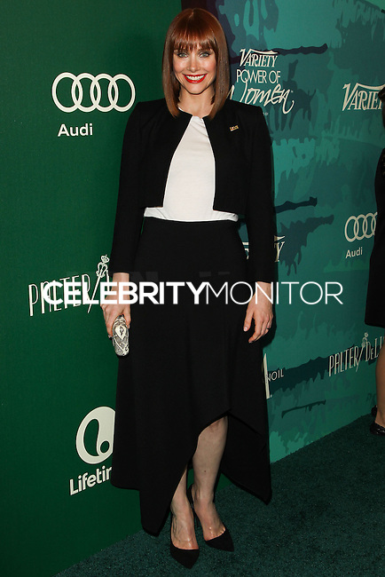 BEVERLY HILLS, CA, USA - OCTOBER 10: Bryce Dallas Howard arrives at the 2014 Variety Power Of Women held at the Beverly Wilshire Four Seasons Hotel on October 10, 2014 in Beverly Hills, California, United States. (Photo by Celebrity Monitor)