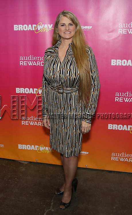 Bonnie Comley attends the BroadwayHD panel discussion at Broadwaycom 2018 on January 26, 2018 at Jacob Javitz Center in New York City.