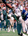 Oakland Raiders Cliff Branch (21) during a game from his 1975 season with the Oakland Raiders. Cliff Branch played 14 years, all for the Oakland Raiders and was a 4-time Pro Bowler.(SportPics)