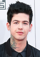 LOS ANGELES, CA, USA - NOVEMBER 23: T. Mills arrives at the 2014 American Music Awards held at Nokia Theatre L.A. Live on November 23, 2014 in Los Angeles, California, United States. (Photo by Xavier Collin/Celebrity Monitor)