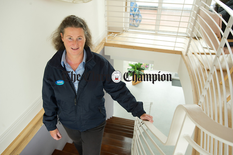 Kim Roberts, manager of Kilrush Marina. Photograph by John Kelly.