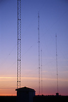 AM Radio Broadcast Tower Array
