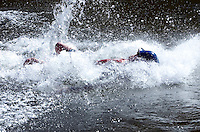 7-09-06 Horseshoe Bend, Idaho. Photos of the free public demonstration put on by Banshee River Boards. The demonstration  was held on the Payette River just above Horseshoe Bend.